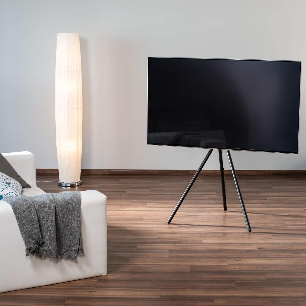 Hama Golvställ för TV Design Svart