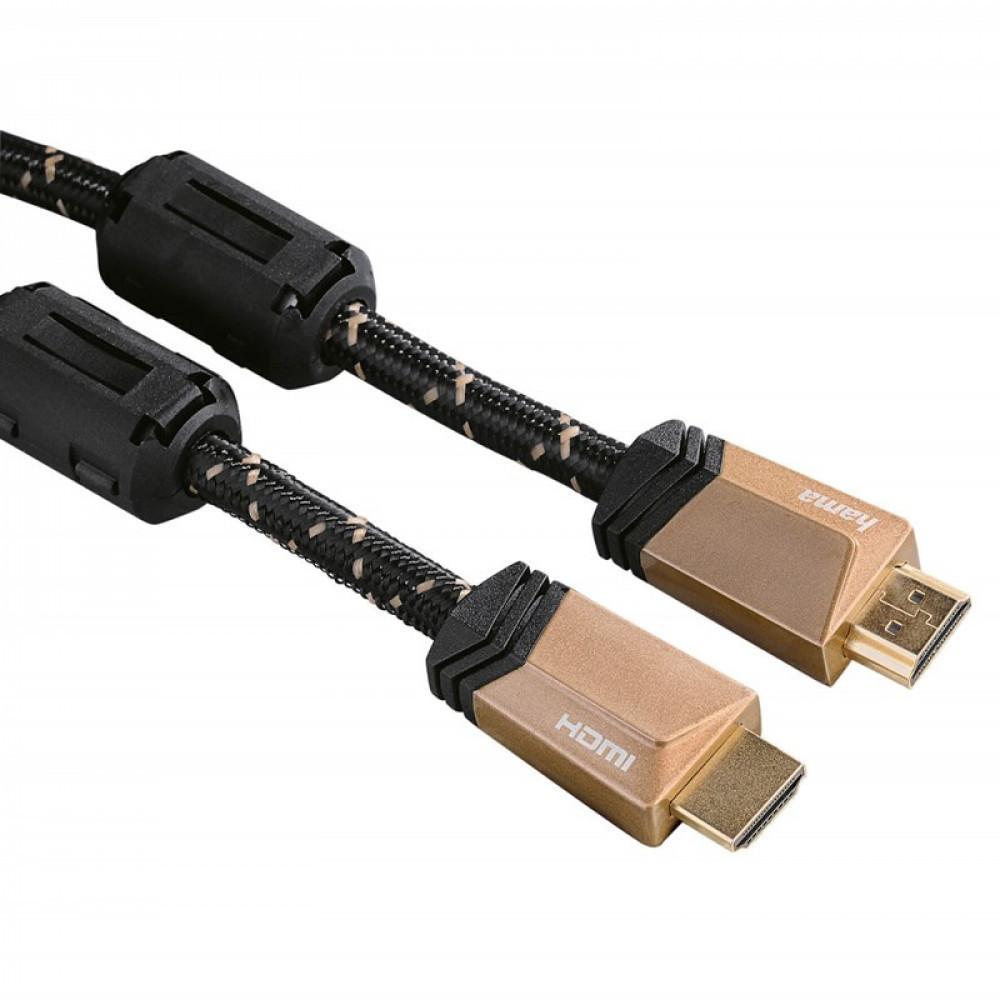 Hama HDMI Ethernet PREMIUM 4K HDMI Ethernet PREMIUM 4K 0,75m