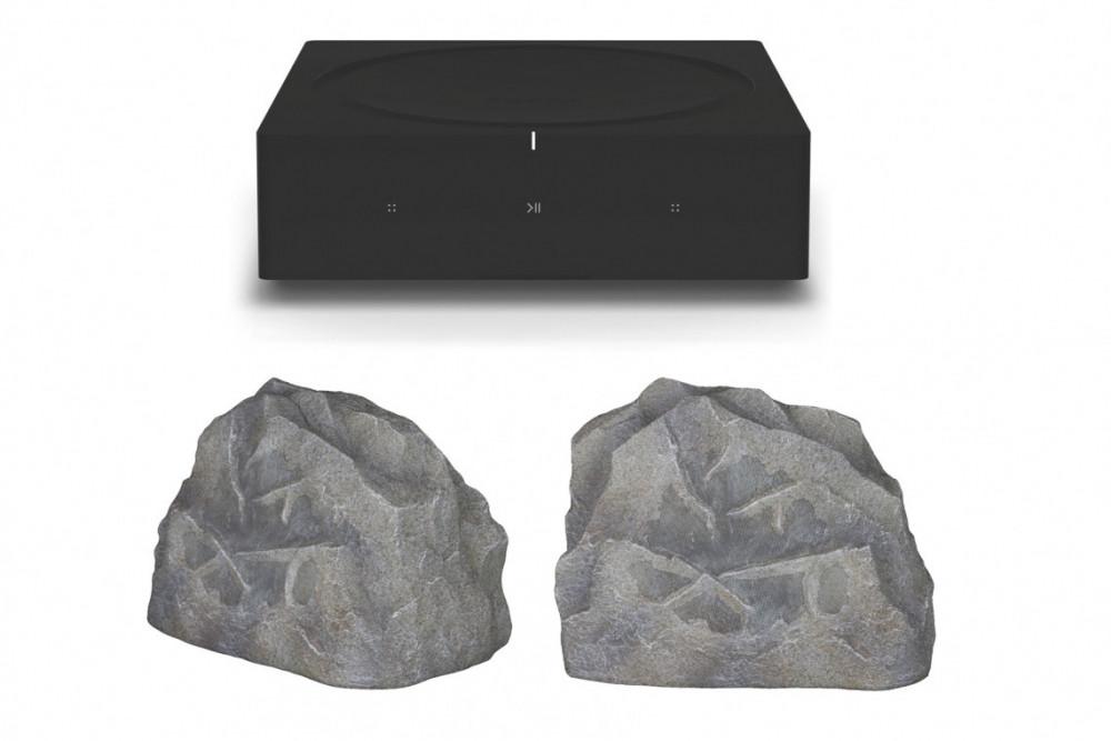 Sonos Amp + Sonance RK63 (Outdoor speakers)
